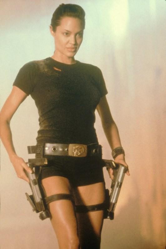 Angelina Jolie ako Lara Croft