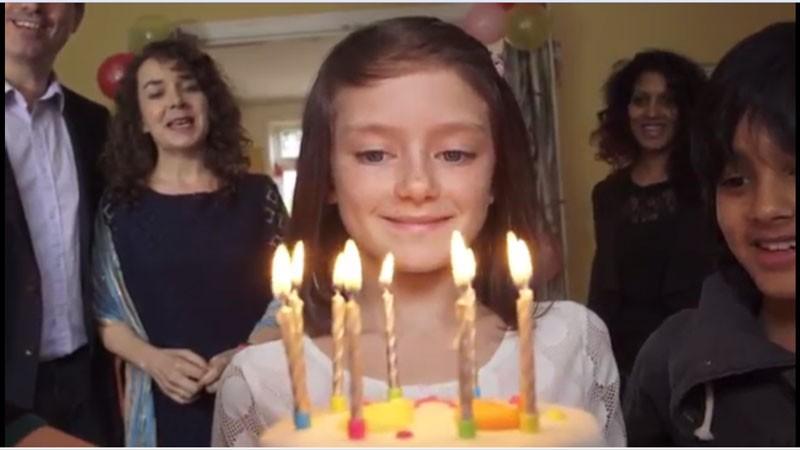 Prežila krásne narodeniny. Také aké majú mať deti po celom svete.
