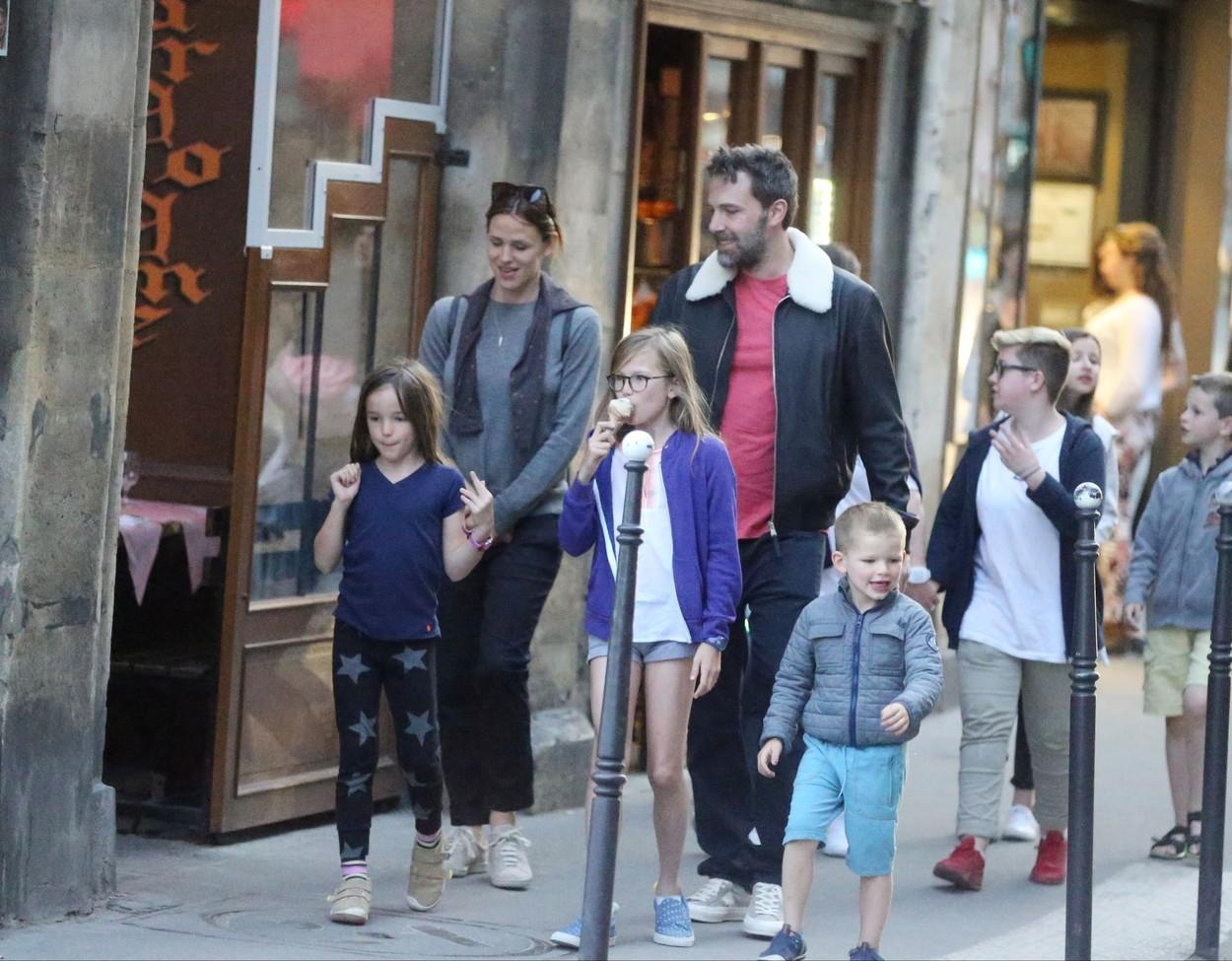 Jennifer Garner a Ben Affleck s deťmi