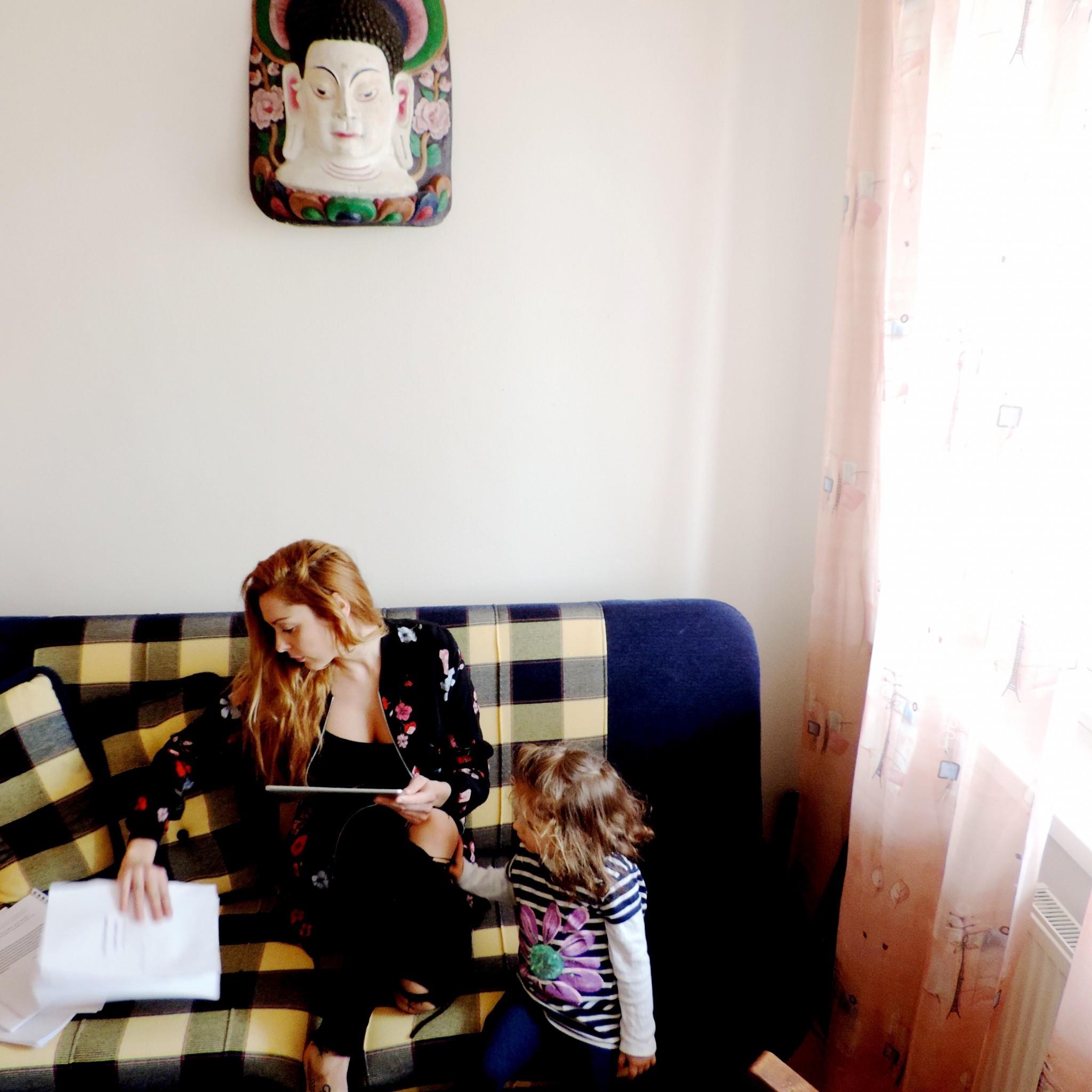 Lei pomáha pri práci aj dcérka Ela.