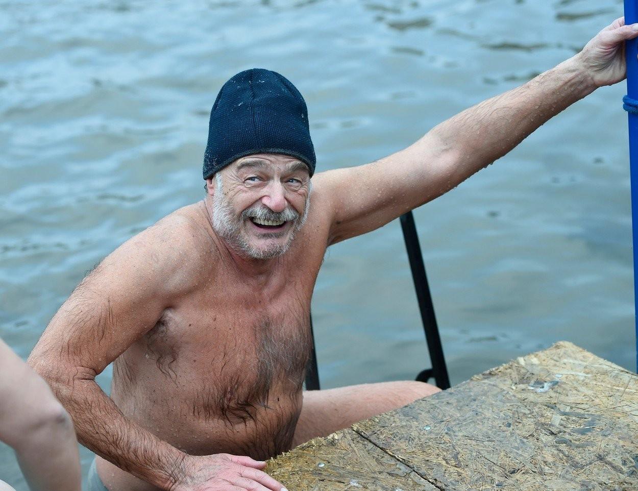Pavel Nový vo filme Baba z ľadu
