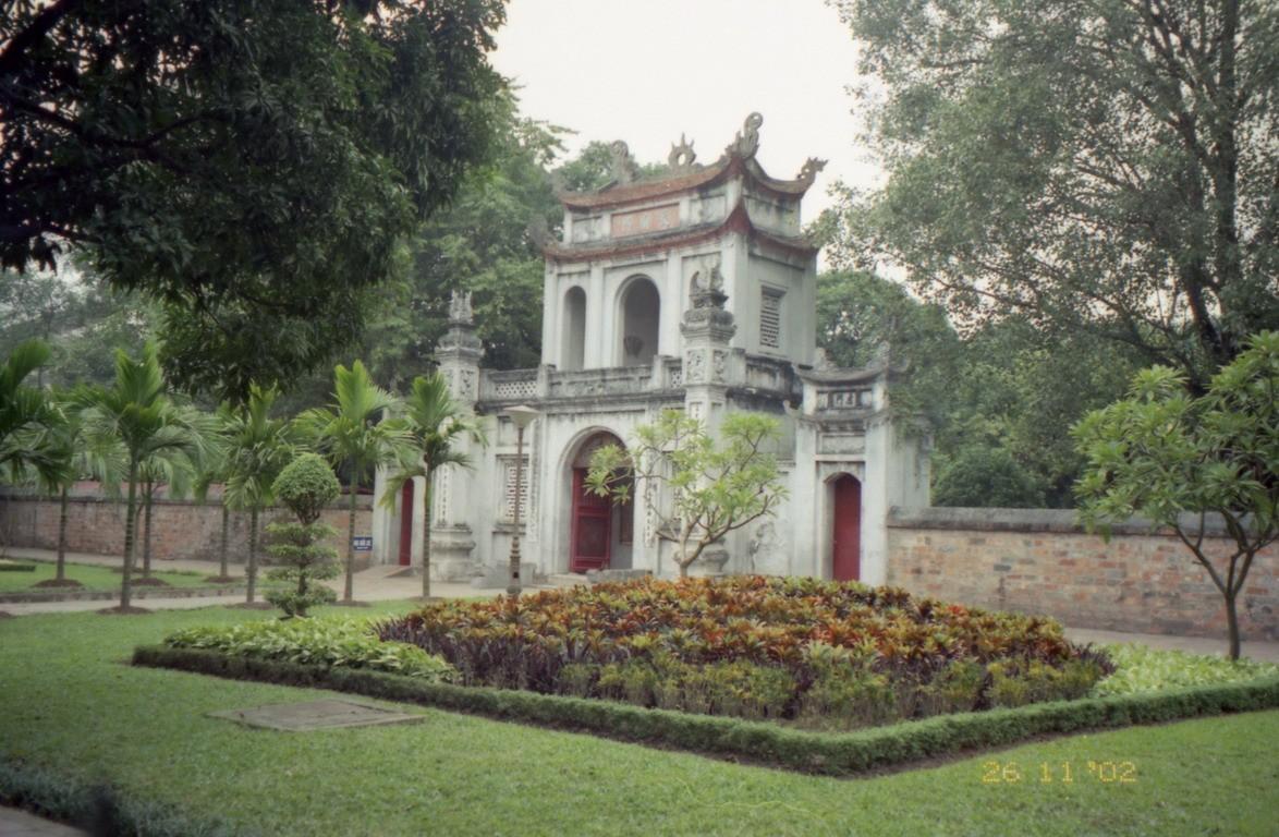 Brána v areáli kráľovského paláca