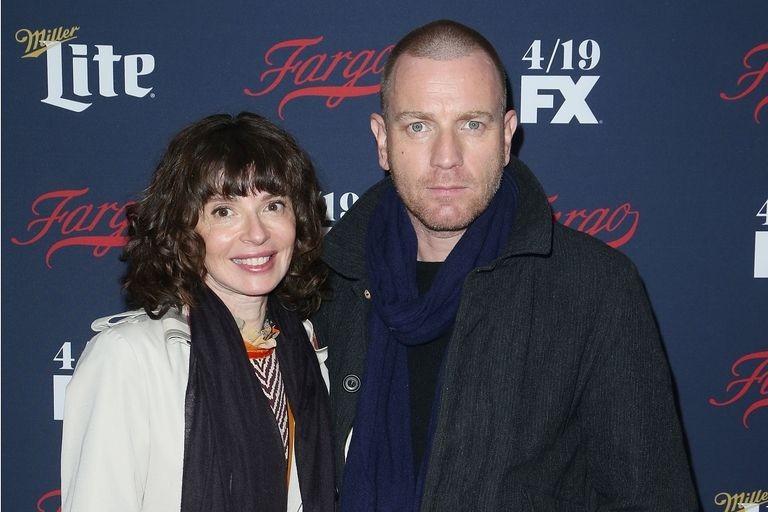 Ewan McGregor s manželkou