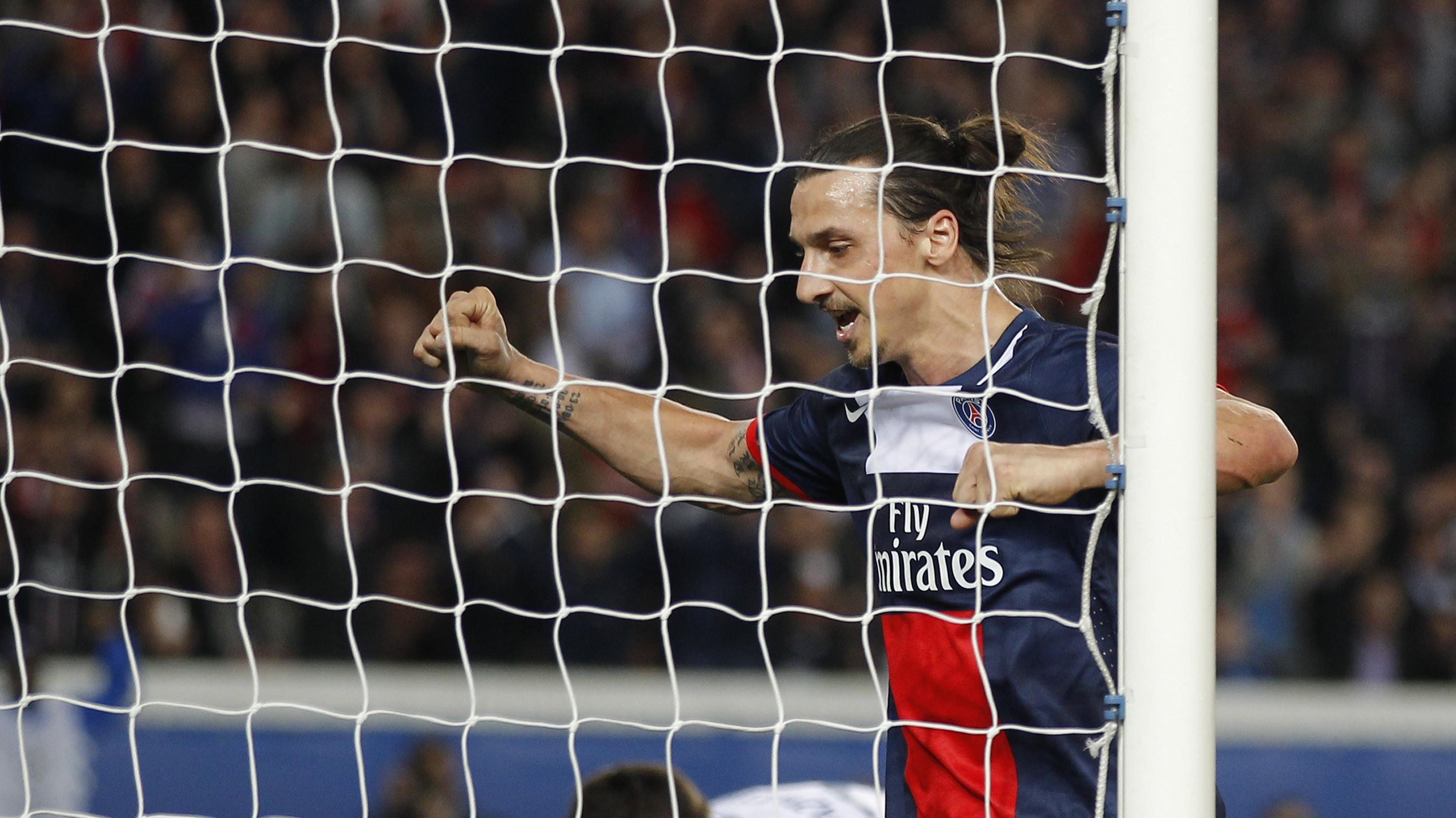 Zlatan Ibrahimovič_PSG_radosť