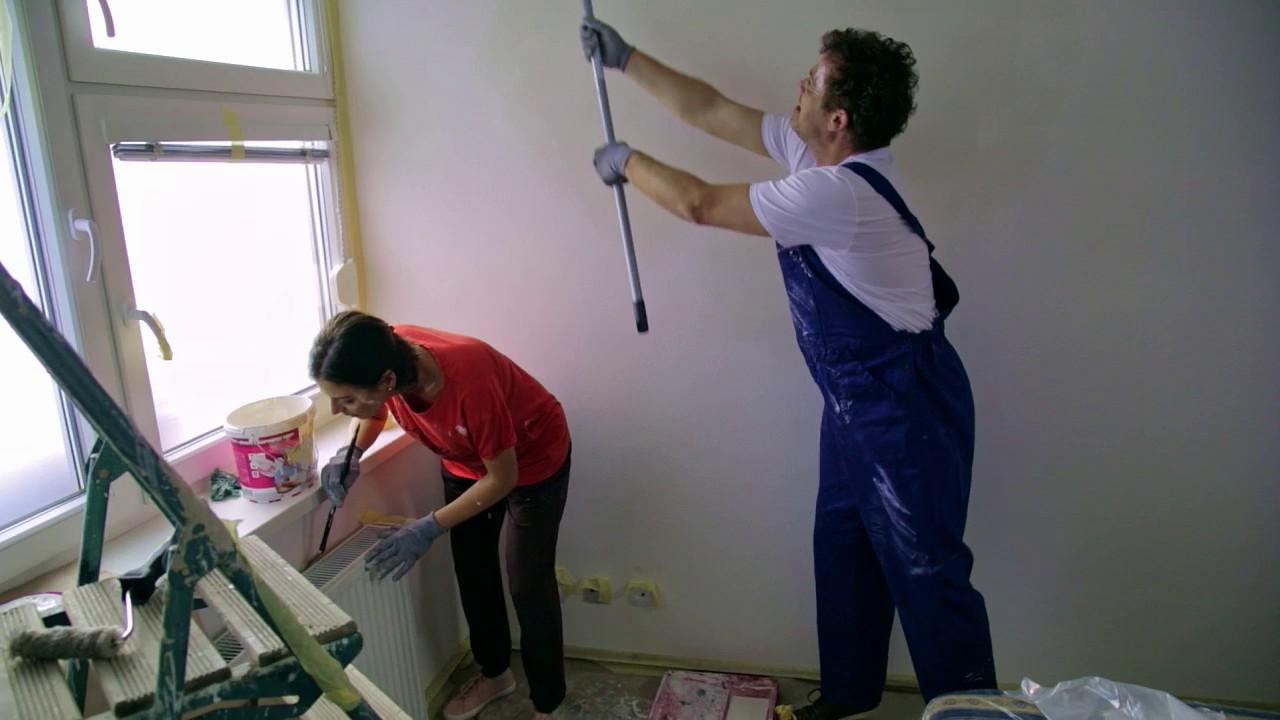 Naši - Lujza s Majom Tomášovi pomáhajú s prerábkou bytu