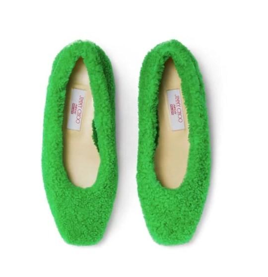 zelené topánky