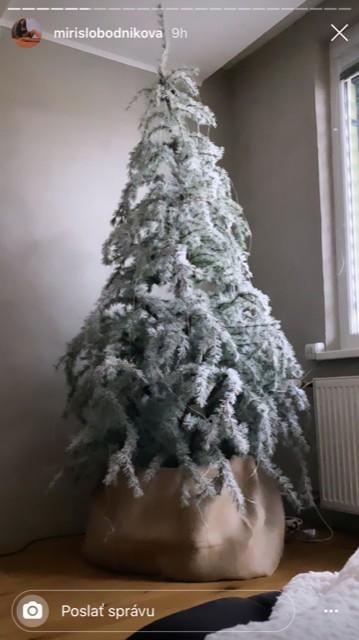 vianocny stromcek mirky slobodnikovaj