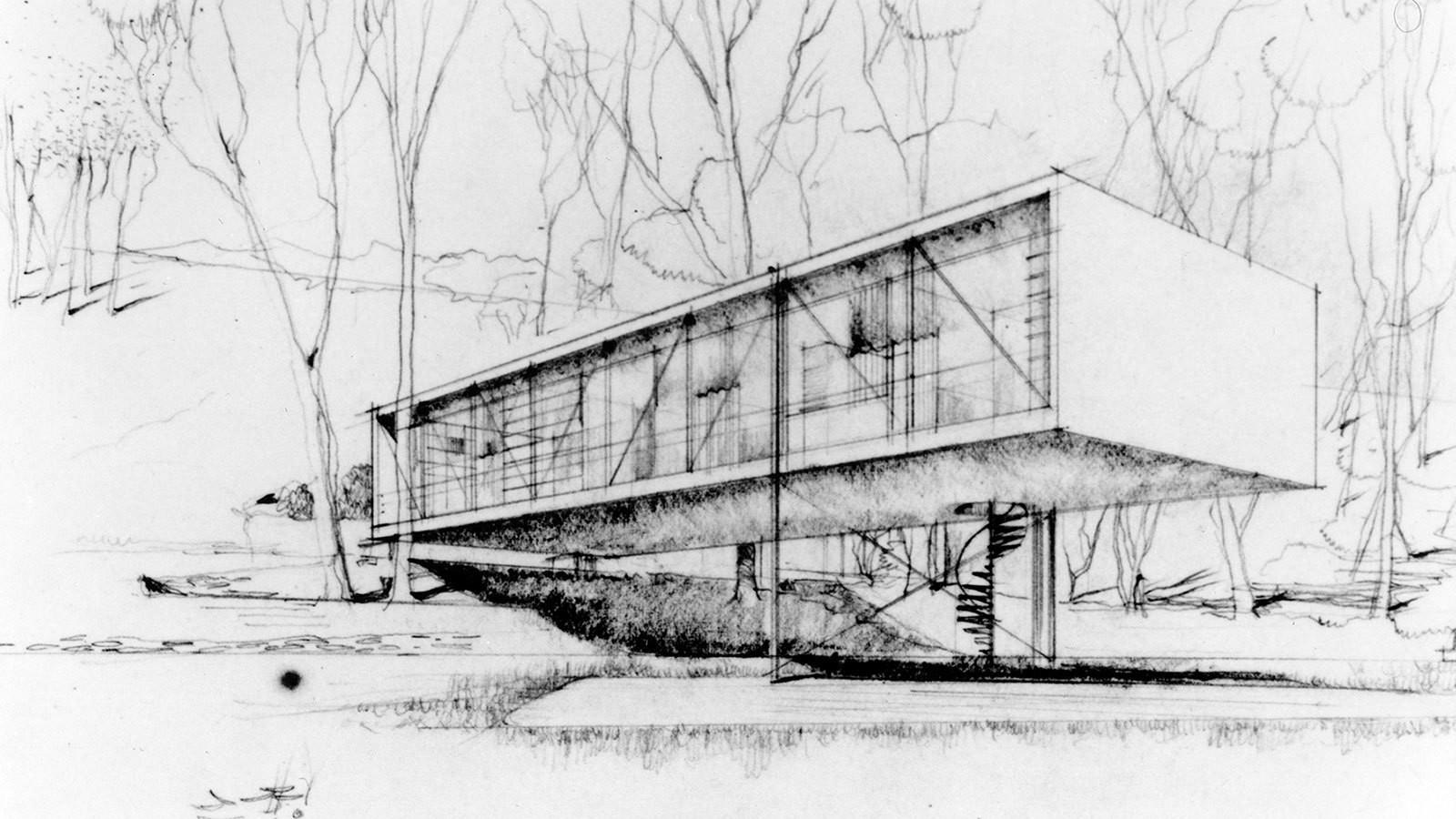 Pôvodne plánovali, že dom by stál na stĺpoch.