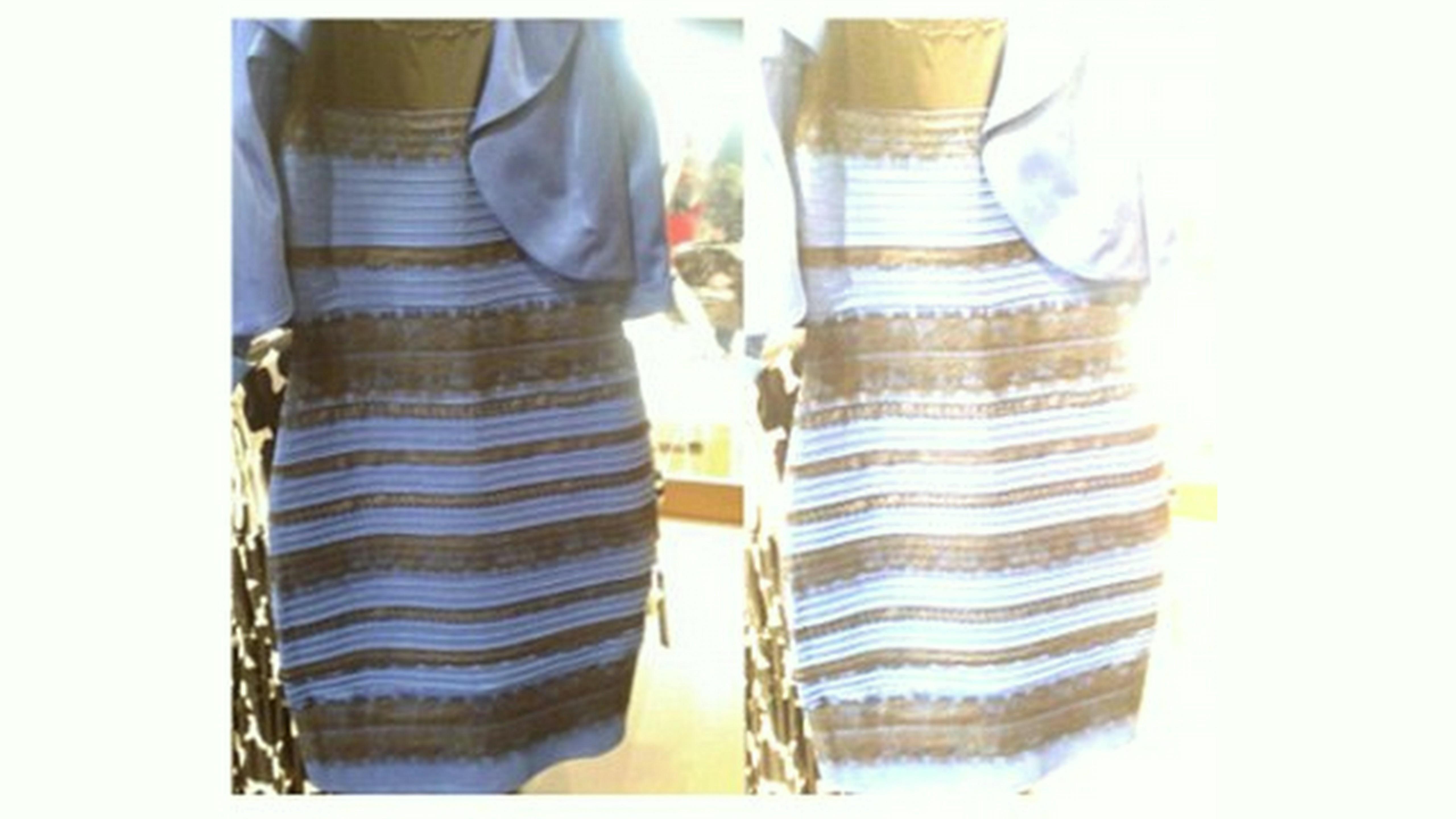 974179fd4ef6 Modro-čierne alebo zlato-biele  Pre šaty sa háda celý svet