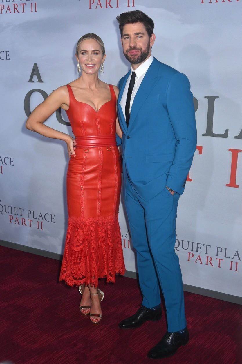 Emily Blunt s manželom