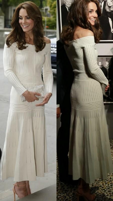 Tieto šaty sú u návrhárky beznádejne vypredané.