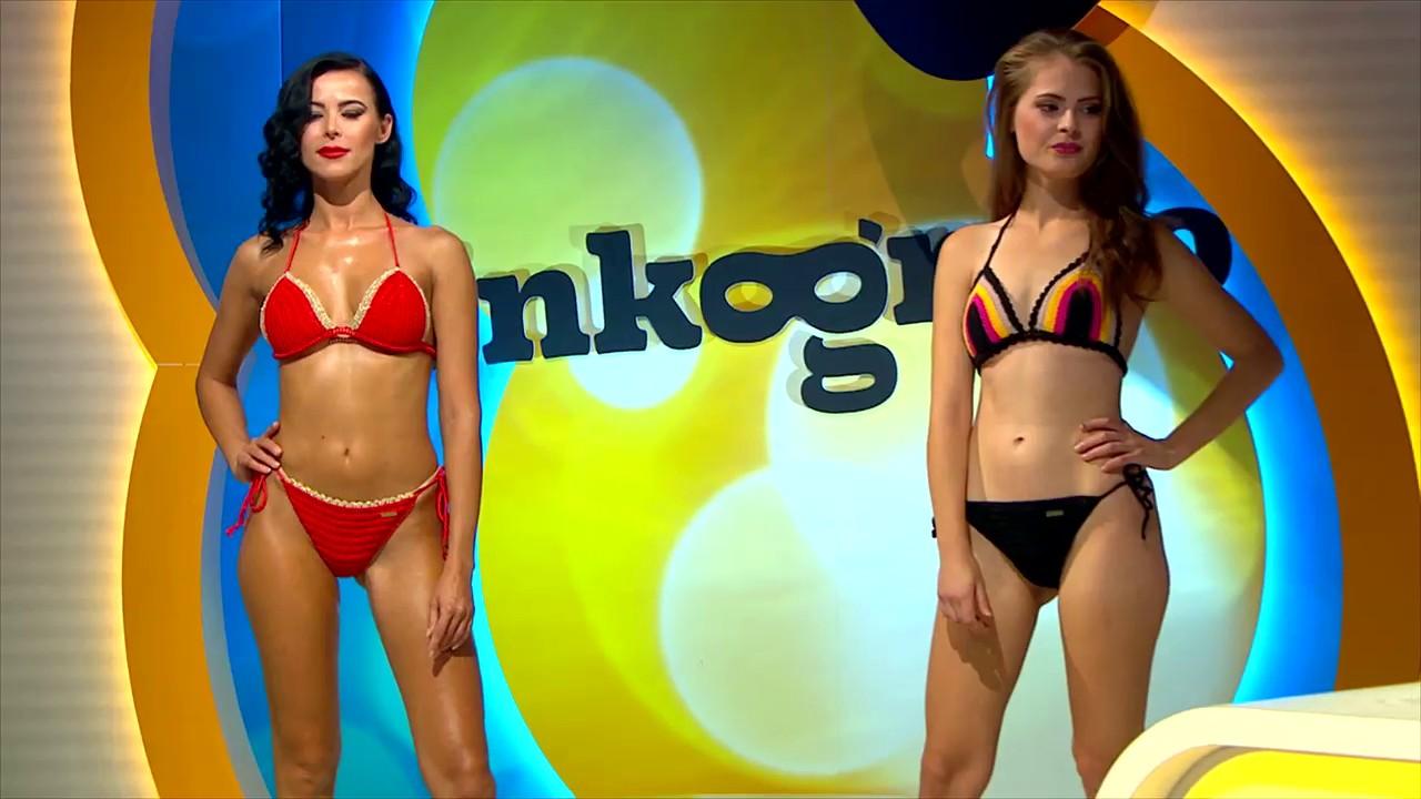 Inkognito - Modelky predvádzali hačkované plavky a nenechali nikoho chladným