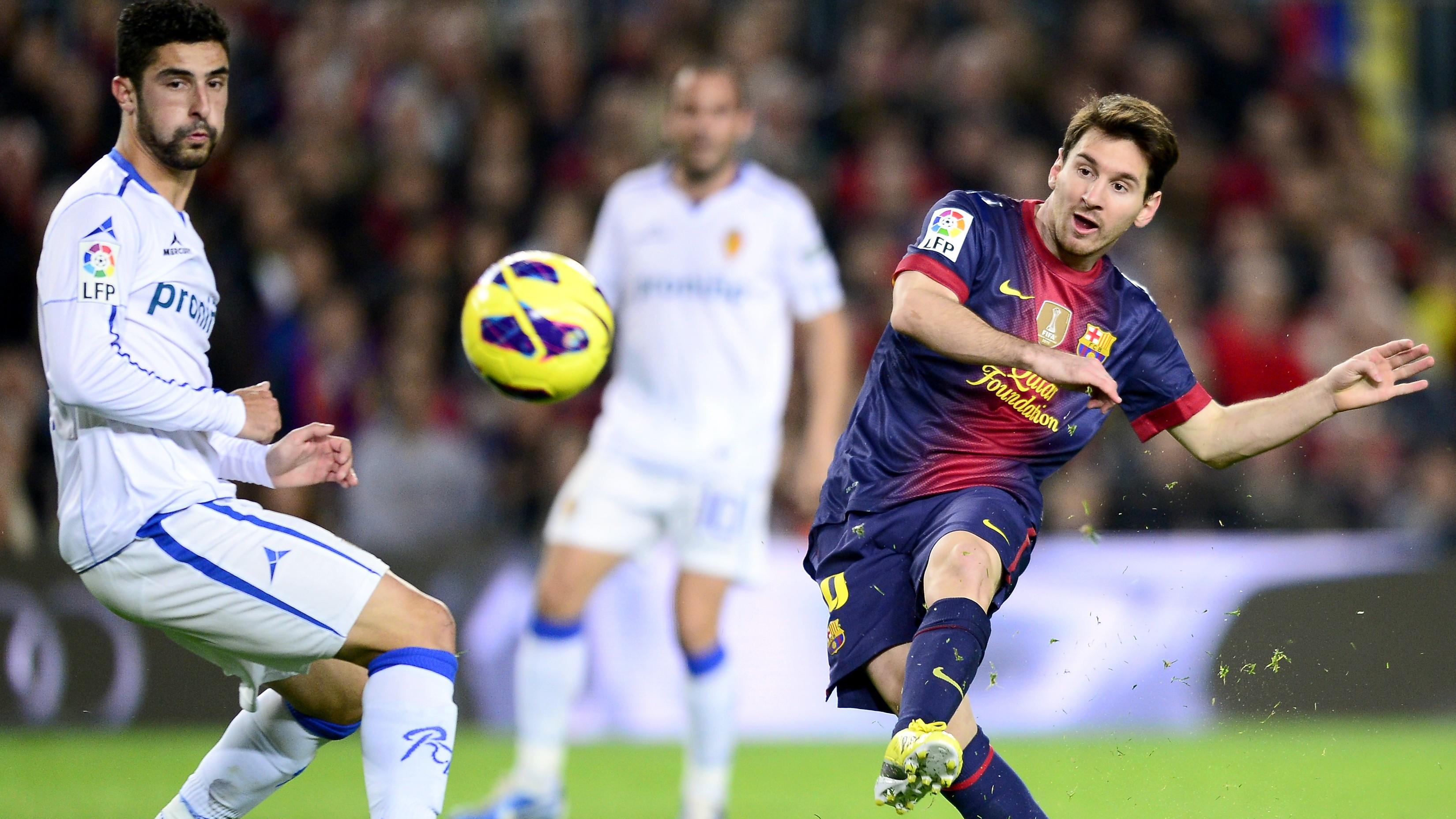 Barcelonský idol Messi naháňa gólmi Müllera