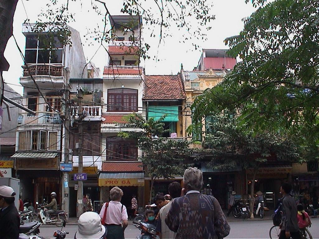 Mestské domy v Hanoji