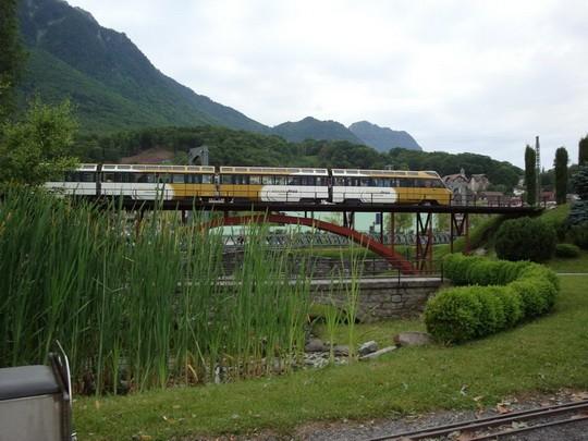 GoldenPass express na viadukte St.Claude