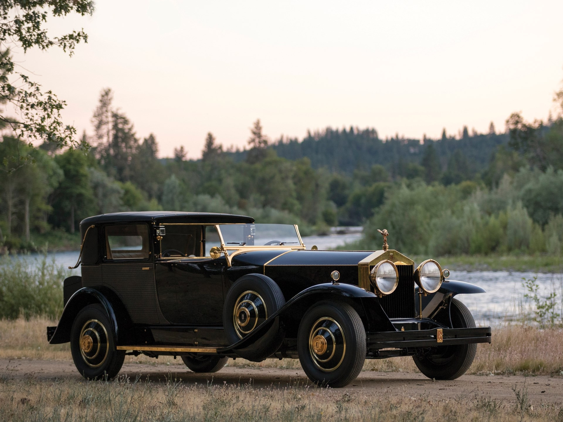 1929 Rolls-Royce Phantom I Riviera na aukcii RM Sotheby's