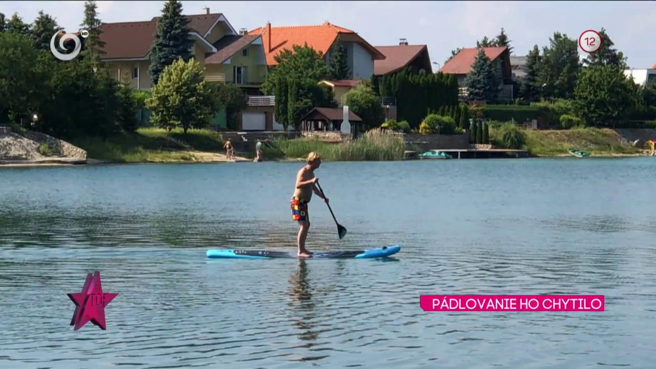 Maroš Kramár a jeho nová záľuba - paddleboarding