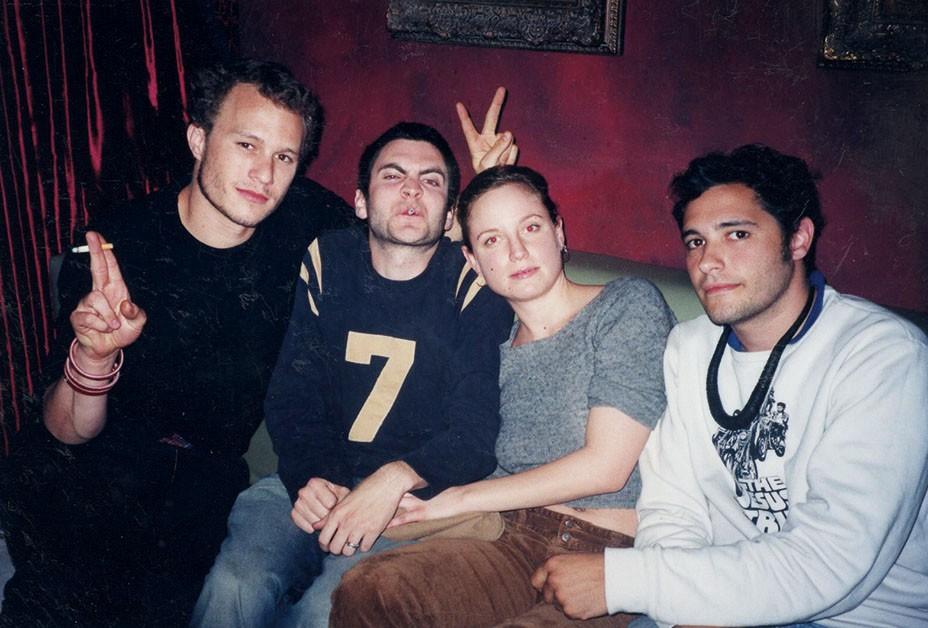 Heath Ledger, Wes Bentley jeho už ex-manželka Jennifer Quanz a kamarát George