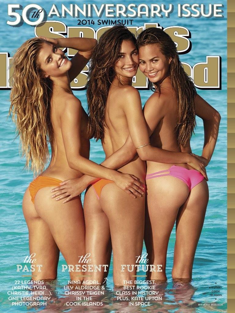 Obálka Sport Illustrated sa dostala do pozornosti najmä kvôli tomu, že namiesto obvyklej jednej modelky sa tu objavili hneď tri. A to vo veľmi zvodnej póze.
