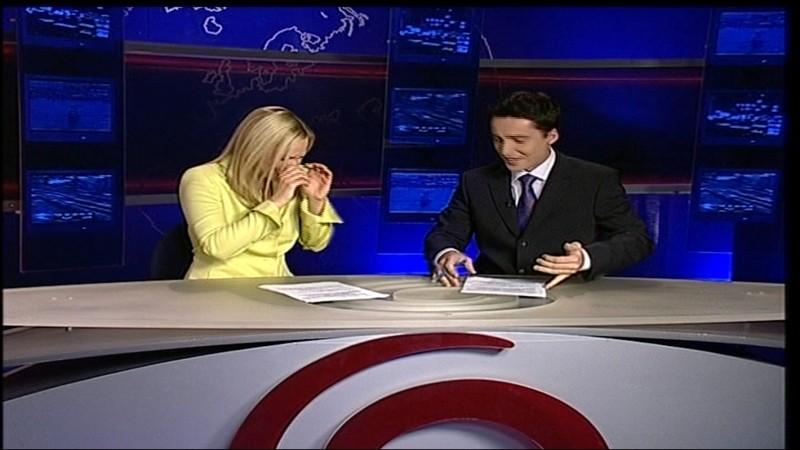 TV JOJ, Zuzana Hajdu a Ľuboš Sarnovský, smiech