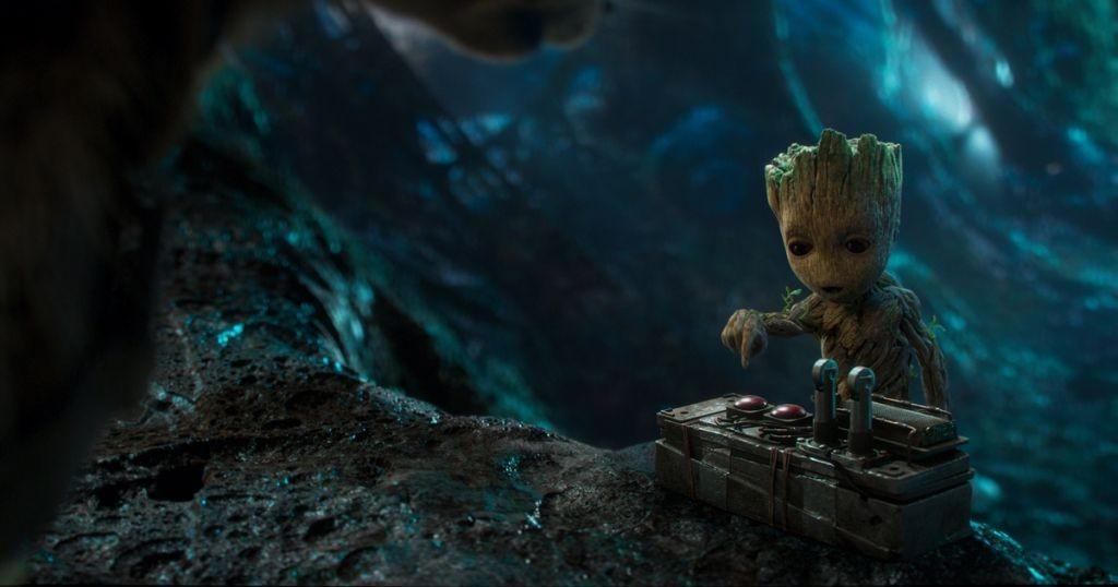 Tak ktorý gombík je ten správny, Groot?