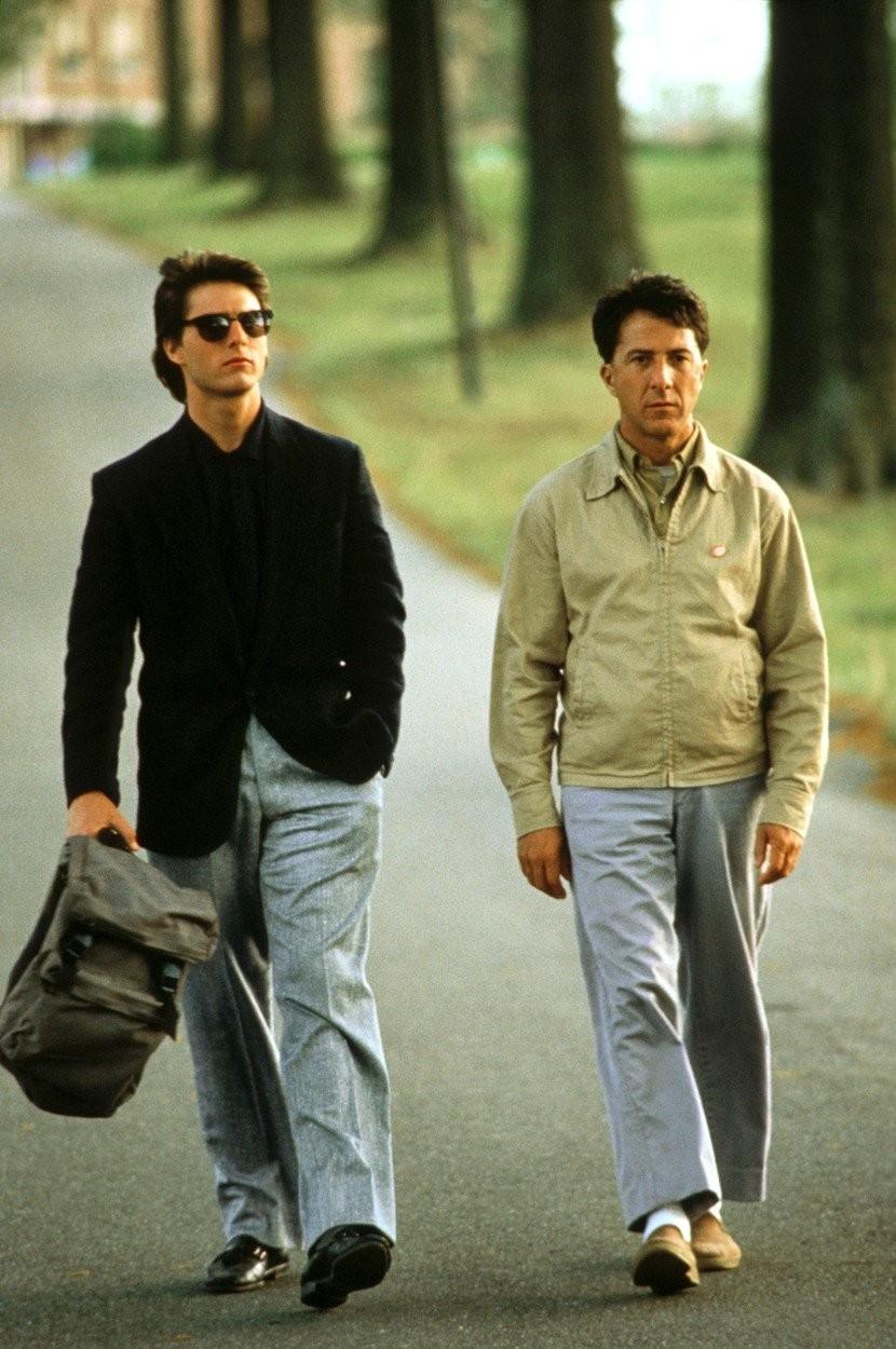 Dustin Hoffman vo filme Rainman