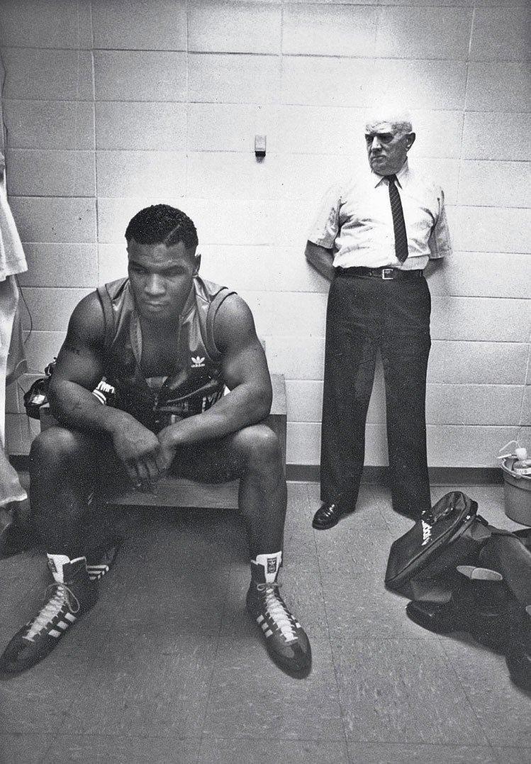 Mladý Tyson a Cus D`Amato