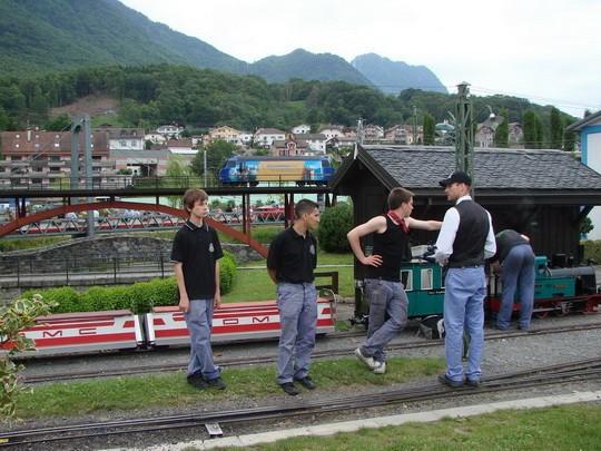 Yves Marclay a jeho tím