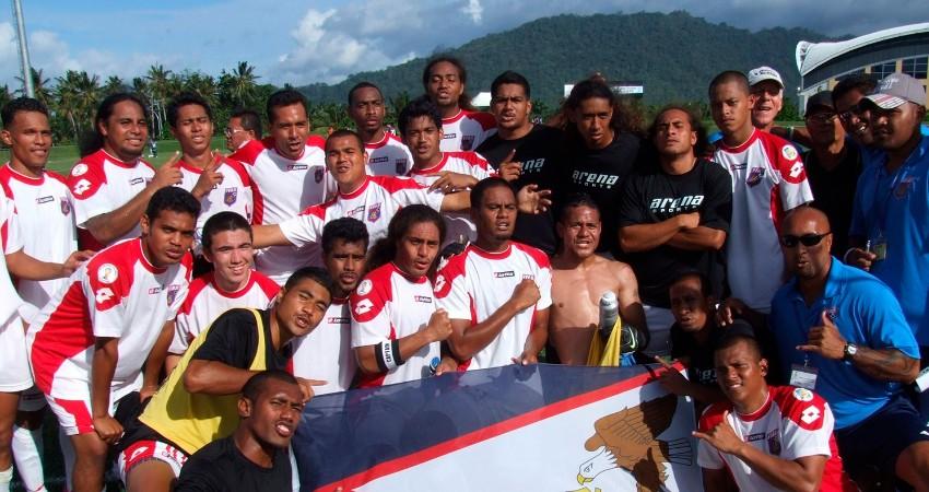 Futbalsiti Americkej Samoy sa tešia z prvého víťazstva!