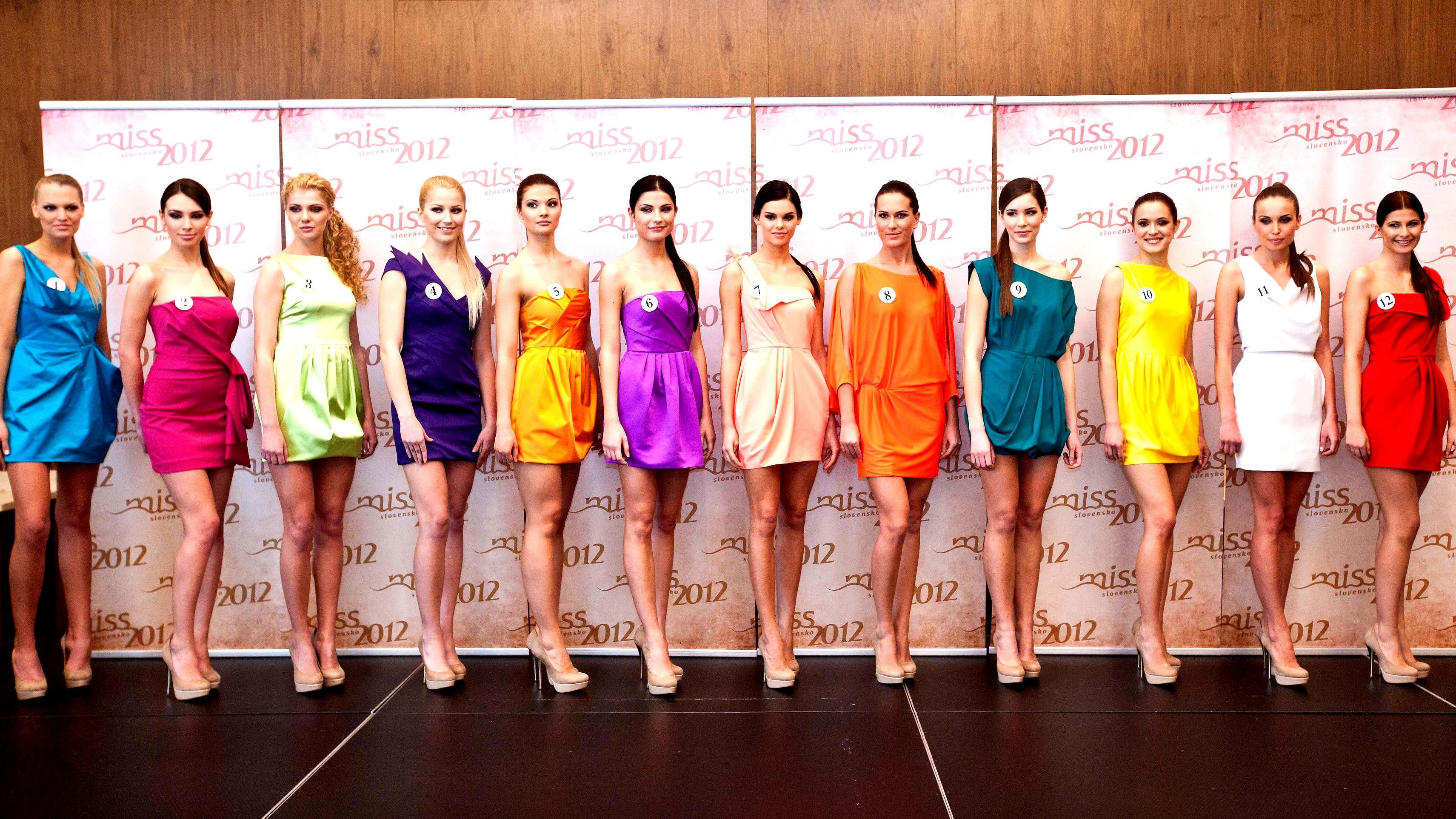 Miss 2012_finalistky_spredu_Slovensko