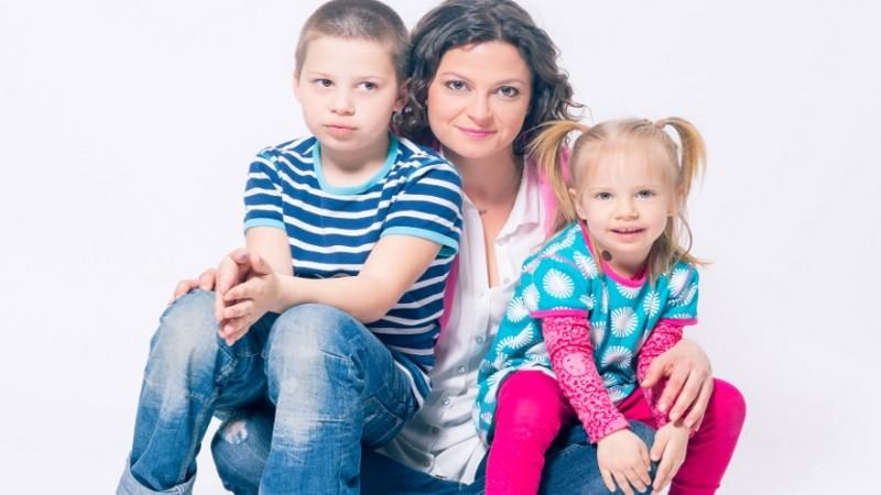 Lujza má v skutočnosti dve krásne deti - Grétku a Viktora.