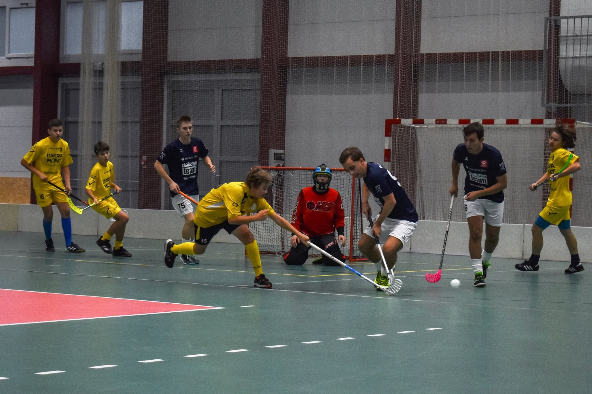 Floorball Challange Team
