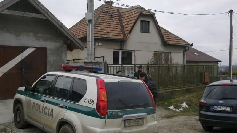 Janíkovce Nitra, vražda, mŕtvola ženy