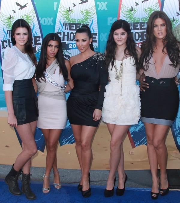Slávne sestry: Kendall, Kourtney, Kim, Kylie a  Khloé