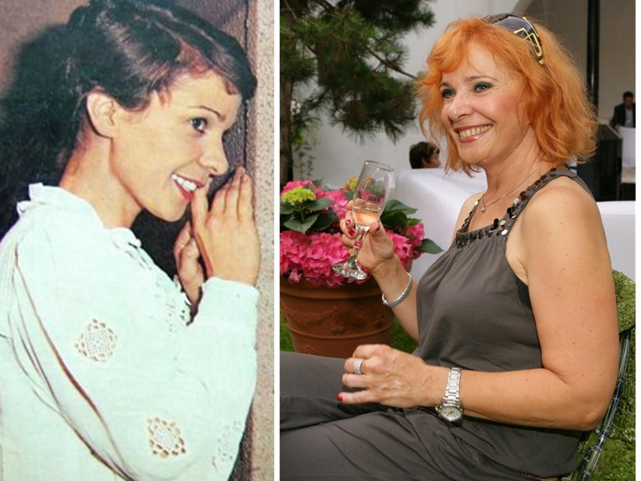 Kamila Magálová v minulosti a teraz.