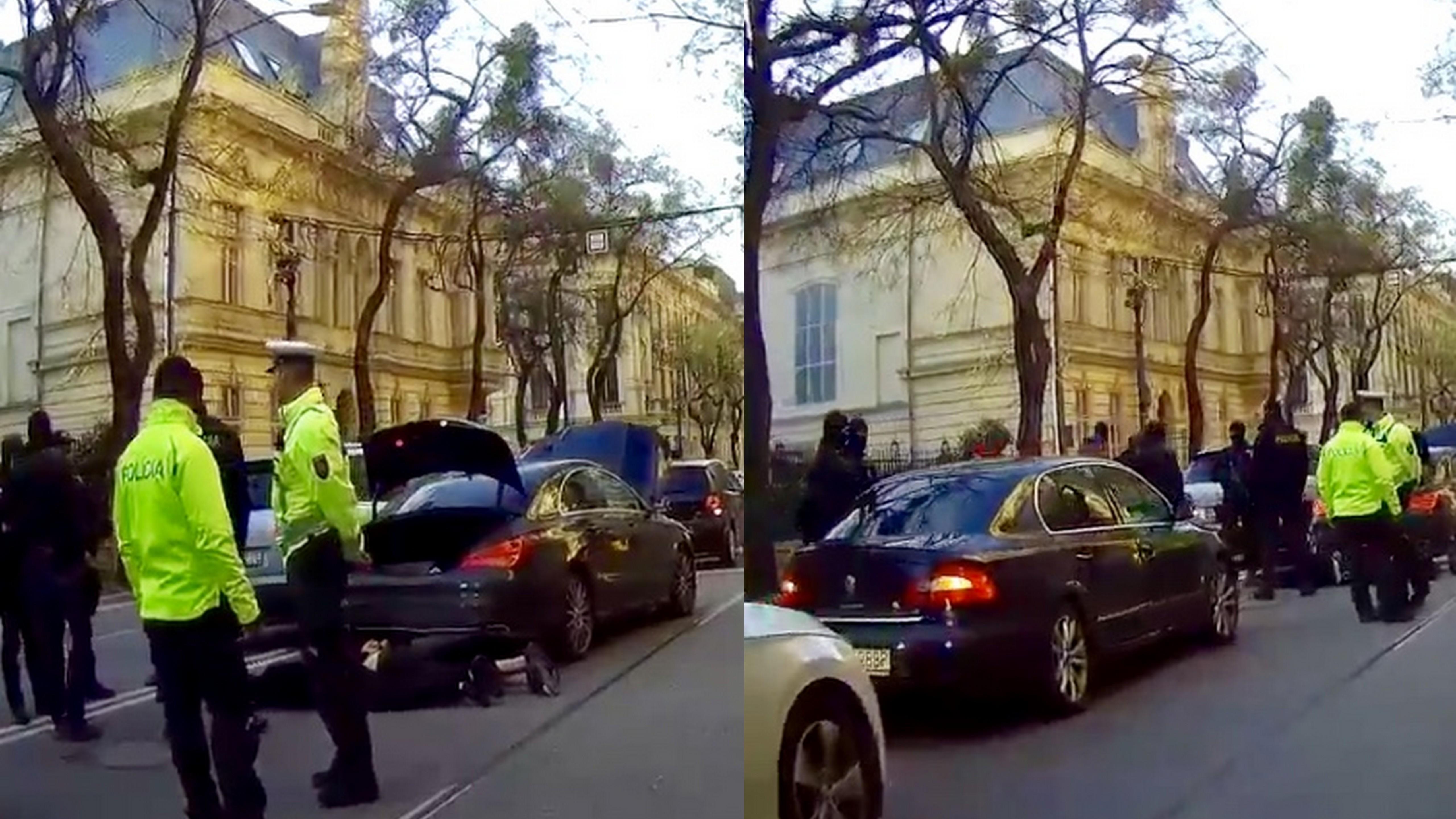 dab8d86cd Chlapec náhle vybehol na cestu. Autom ho zachytil hraničný policajt ...