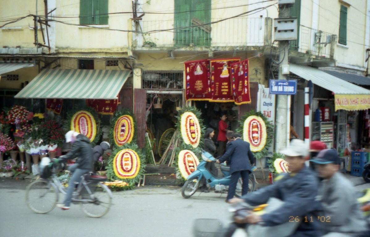 Bežný život vo vietnamských uliciach