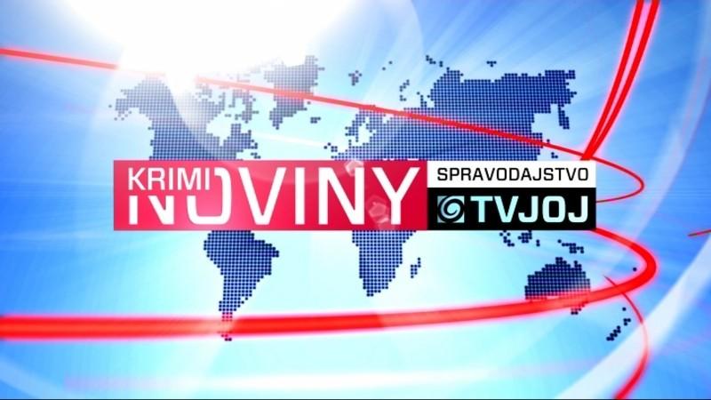 Krimi Noviny o 19:00, logo