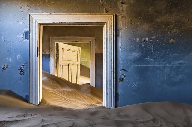 Kedysi banícka dedinka v Namíbii