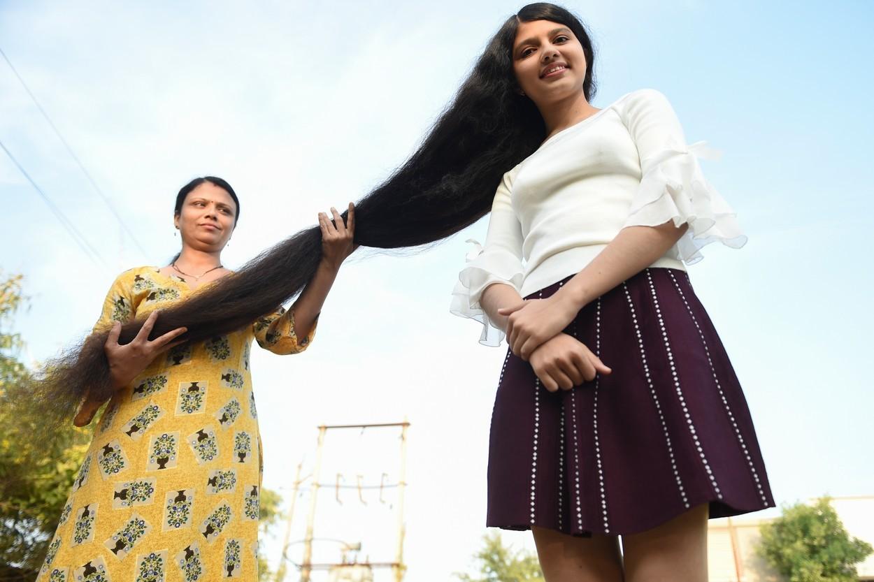dievca s najdlhsimi vlasmi na svete